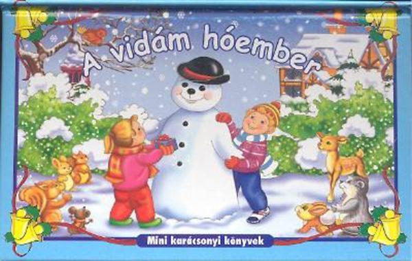A vidám hóember című könyvünk borítója