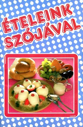 Ételeink szójával című könyvünk borítója
