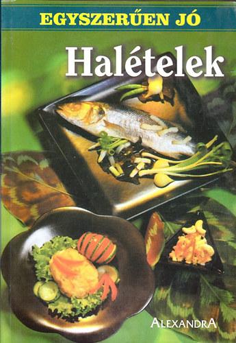 Halételek (Egyszerűen jó) című könyvünk borítója