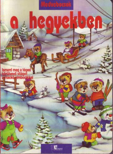 Medvebocsok a hegyekben című könyvünk borítója
