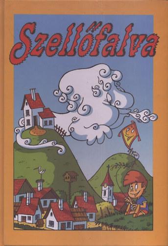 Szellőfalva című könyvünk borítója