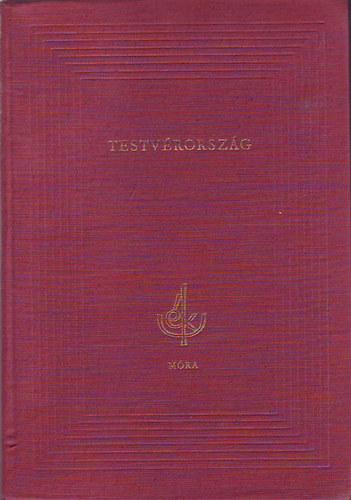 Testvérország című könyvünk borítója