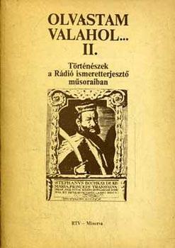 Olvastam valahol... II.Történészek a Rádió ismeretterj. műsoraiban