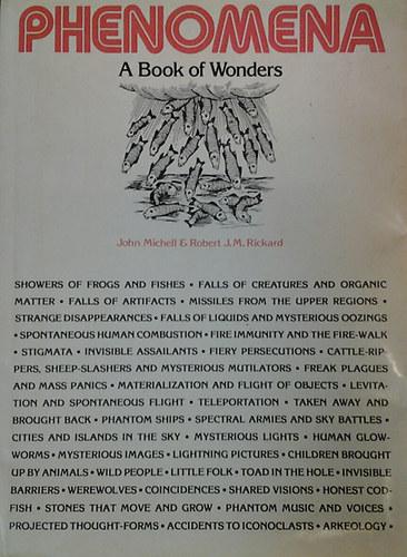 Phenomena. A Book of Wonders