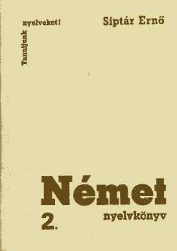Német nyelvkönyv 2.