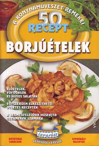 50 recept - borjúételek