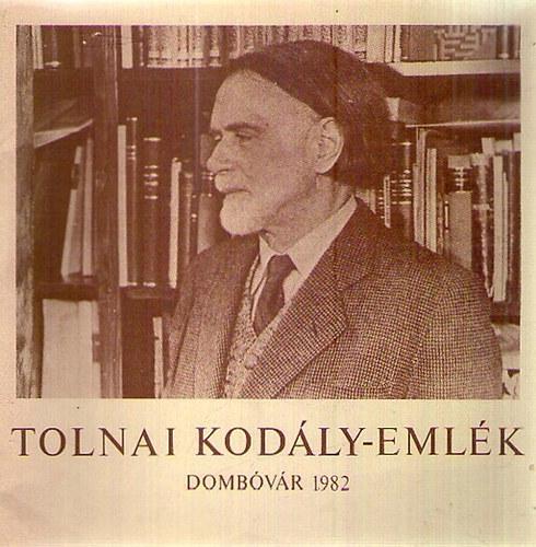 Tolnai Kodály-emlék / Dombóvár 1982